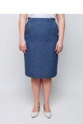 Kobieca elegancka spódnica ołówkowa TR1845 Dins