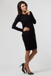 Sukienka dzianinowa B-030 Black