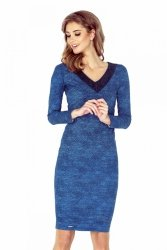 Sukienka Model MM 020-2 Light Jeans Blue