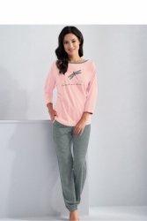 Piżama Damska Model Molly 561 Light Pink