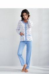 Piżama Damska Model Barbara 538 Blue