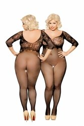Bodystocking erotyczne PLUS SIZE  XL-3XL DRAGONFLAY