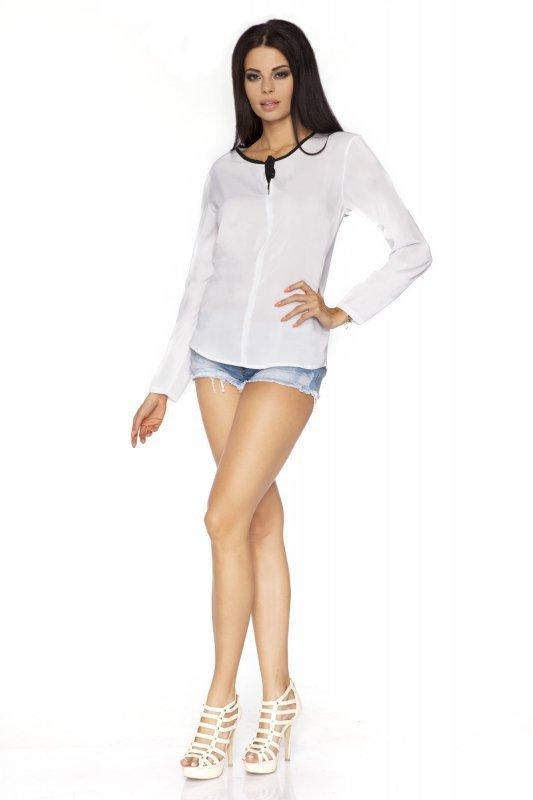 Bluzka Model Kornelia 2 White/Black