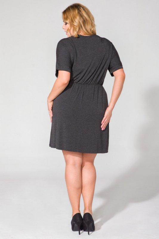 Sukienka Model PS5 Dark Grey
