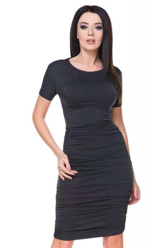 Sukienka Model T159 Dark Grey