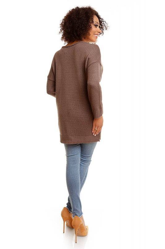 Sweter model 30045 Cappuccino