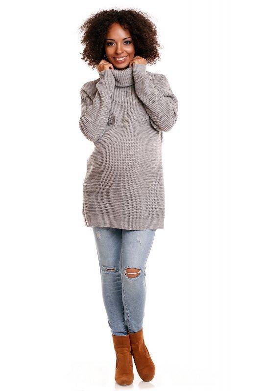 Sweter model 30044C Light Gray