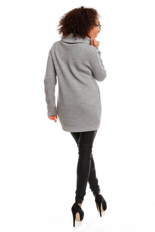 Sweter model 30044 Light Gray