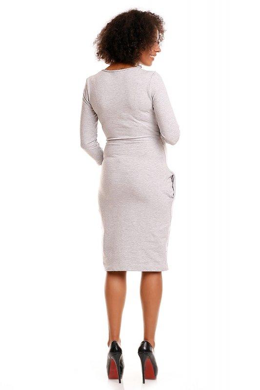 Sukienka model 1445 Light Gray