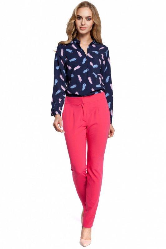 Spodnie-damskie-Model-MOE303-Pink-2