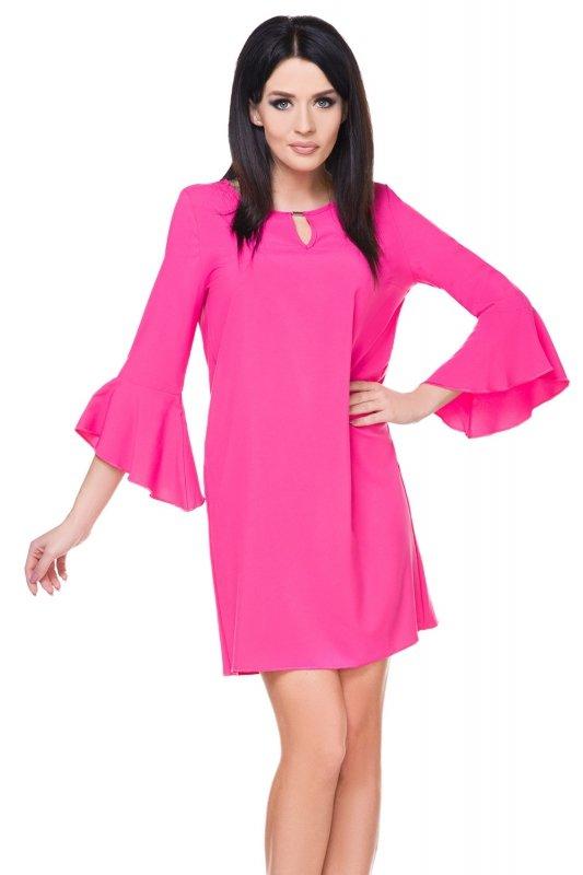 539260fdda Sukienka Model T173 Dark Pink - Sukienki wieczorowe - Sukienki ...