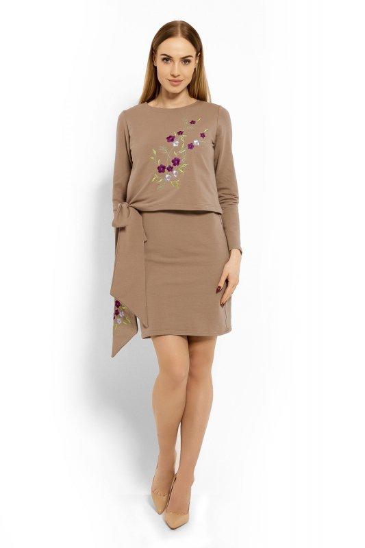 b7adb2e8d9 Sukienka Model 1624 Cappuccino - Sukienki dzienne - Sukienki ...