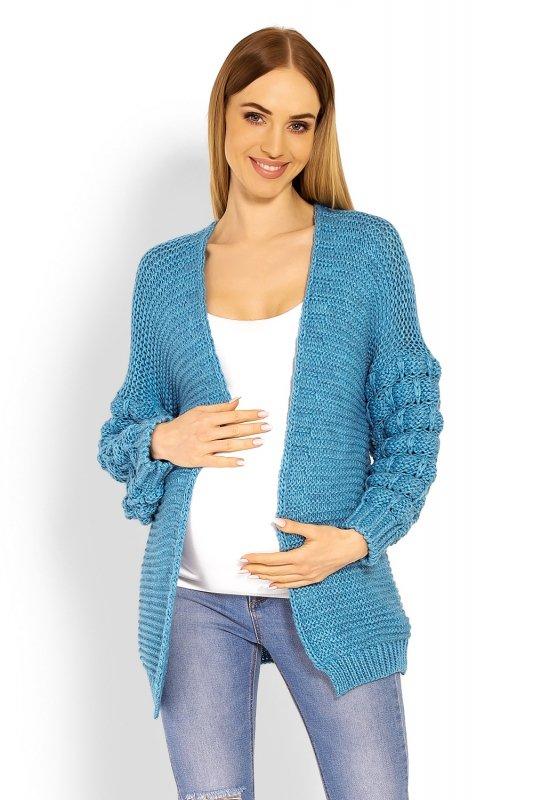 Sweter Ciążowy Model 60003C Morski