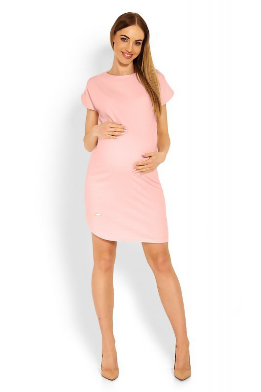 Sukienka Ciążowa Model 1629C Pink
