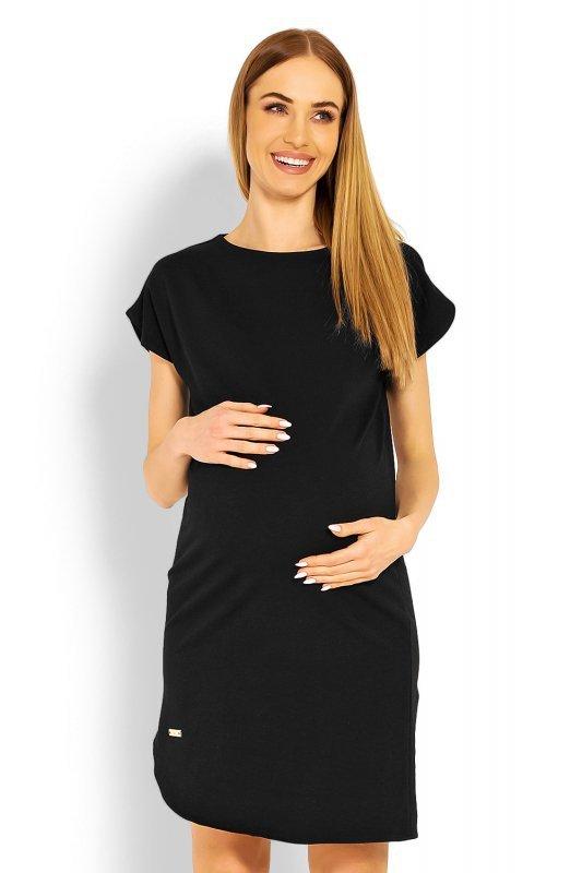 Sukienka Ciążowa Model 1629C Black