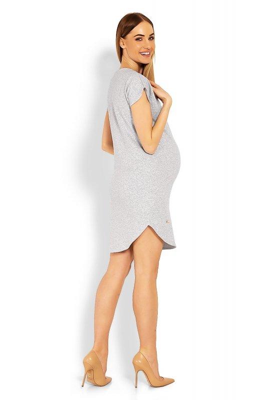 Sukienka Ciążowa Model 1629C Grey