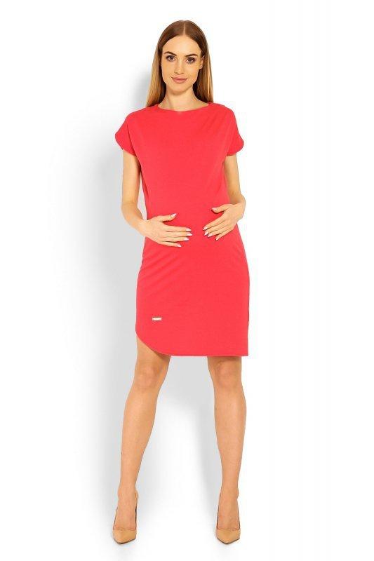 Sukienka Ciążowa Model 1629C Coral