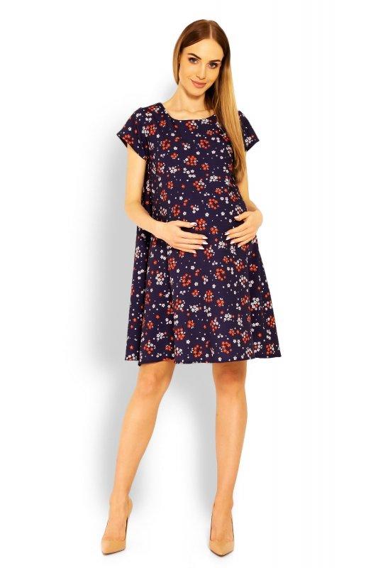 Sukienka Ciążowa Model 1642C Flowers