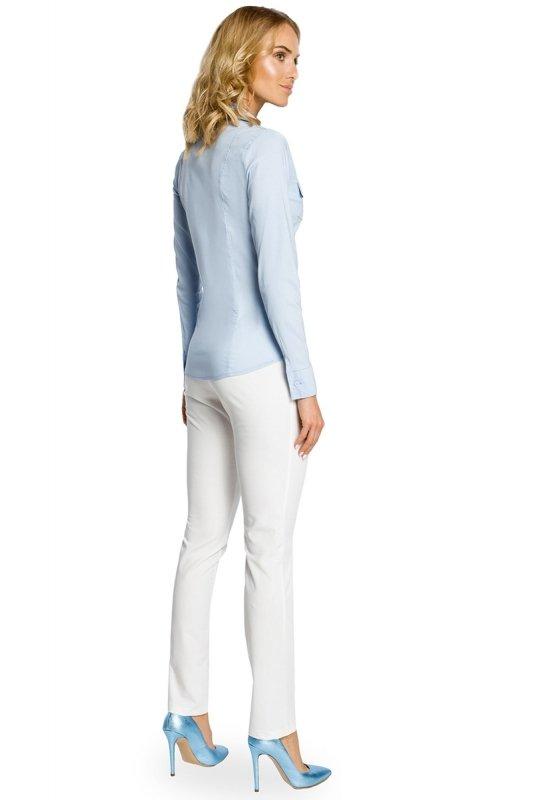 Koszula MOE020 Light Blue