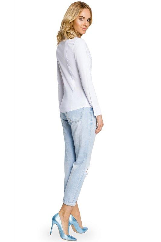 Koszula MOE020 White