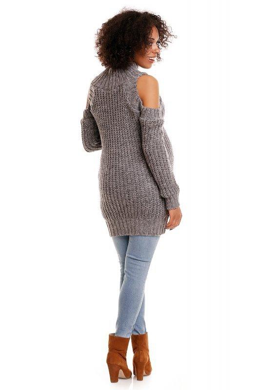 Sweter model 30040C Gray