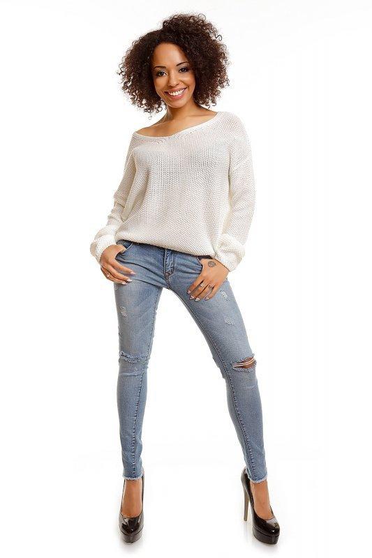 Sweter model 30047 Cream