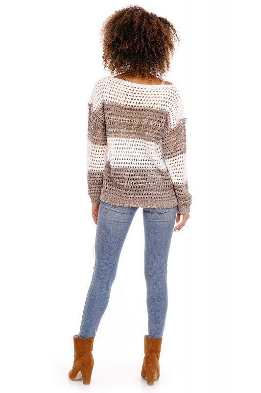 Sweter model 70002 Cappuccinio