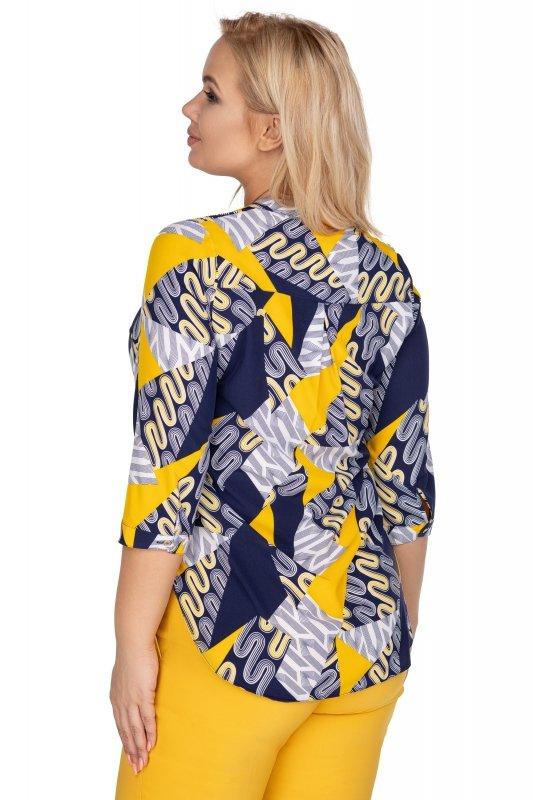 Bluzka-plus-size-dla-puszystych-xl-xxl-AGATA-o-koszulowym-kroju-z-dekoltem-w-serek-tyl