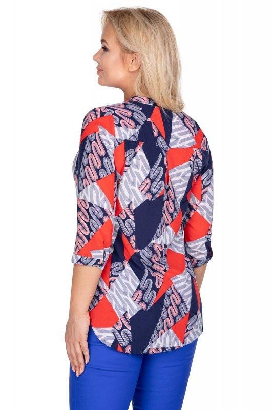 Bluzka-damska-plus-size-dla-puszystych-AGATA-xl-xxl-o-koszulowym-kroju-z-dekoltem-w-serek-tyl