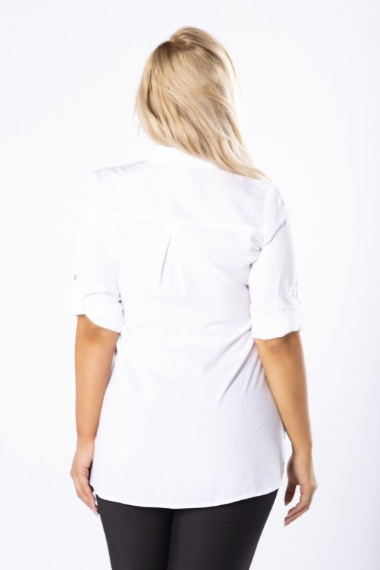 Biała koszula MIA długa