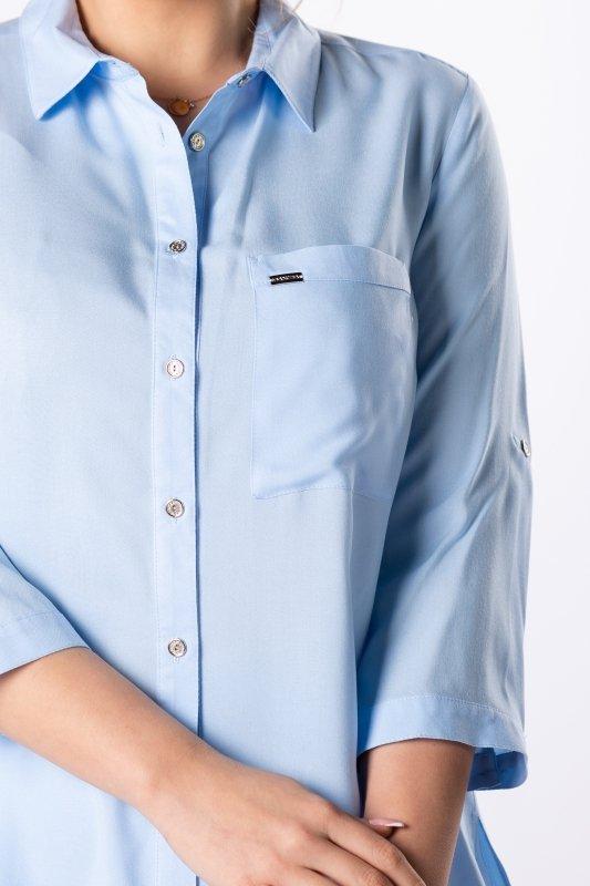 Koszula MERIDA z rozcięciami