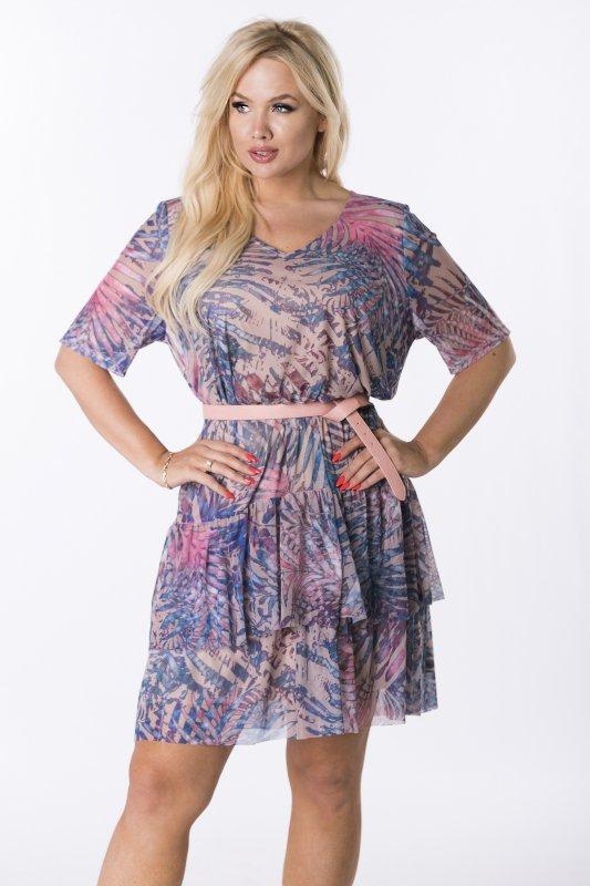 Trapezowa-sukienka-plus-size-WERONA-zwiewna-bezowa-midi
