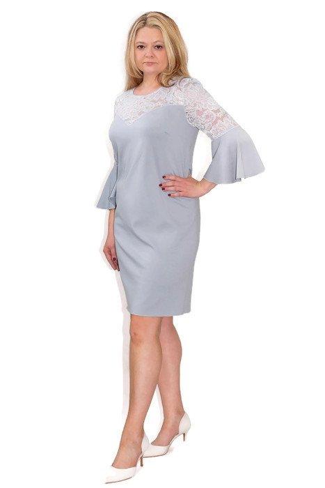 elegancka-sukienka-plus-size-xl-xxl-40-60-na-wesele-dla-puszystych-PAOLA-popiel-modna-przod