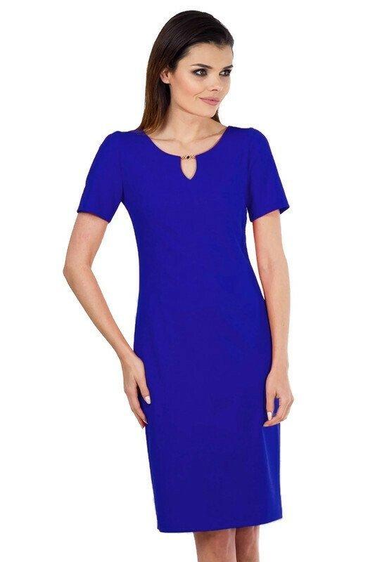 Sukienka-niebieska-koktajlowa-plus-size-dla-puszystych-xl-xxl-MARGARITA-40-54-biuro-wesele-chrzest-poprawiny-krotki-rekawek-modi-randka-swieta-boze-narodzenie