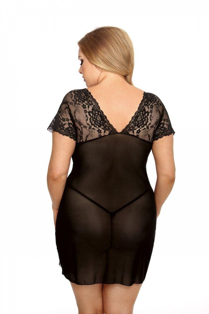 Koszulka-erotyczna-damska-plus-size-dla-puszystych-xl-xxl-MARINA-XL-6XL-czarna-seksowna-prezent-dla-kobiety-na-swieta-bozego-narodzenia-tyl