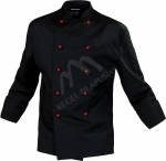 Bluza Kucharska długi rękaw kolor czarny