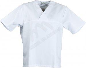 Bluza w serek kr. rękaw KB Textil