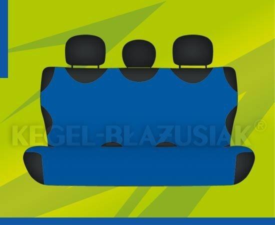 Pokrowce KOSZULKI na tylną kanapę
