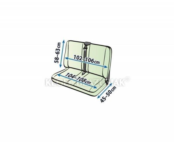 Pokrowiec PRACTICAL DV2 na dwuosobową kanapę rozm.  XL