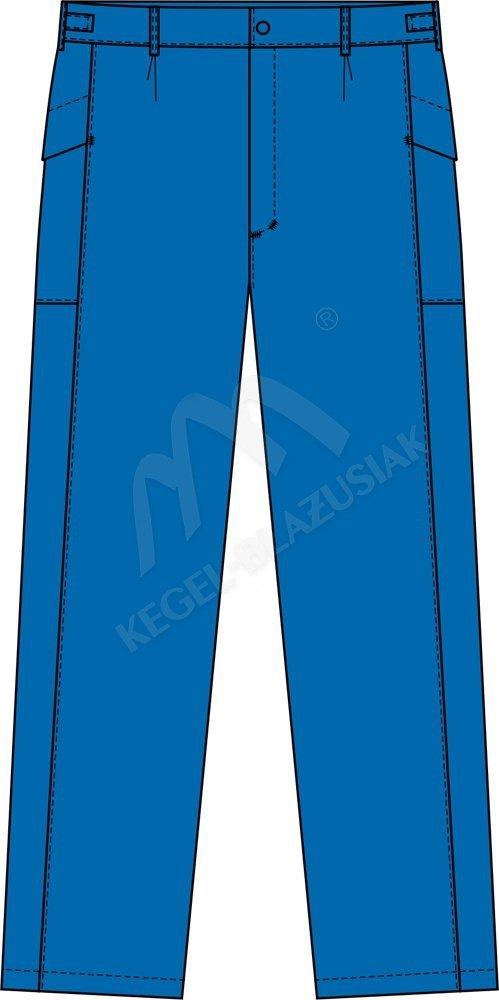 Spodnie trudnopalne dla spawacza, antyelektrostatyczne