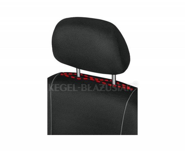 Pokrowiec HERMAN Black na przednie fotele rozm. XL