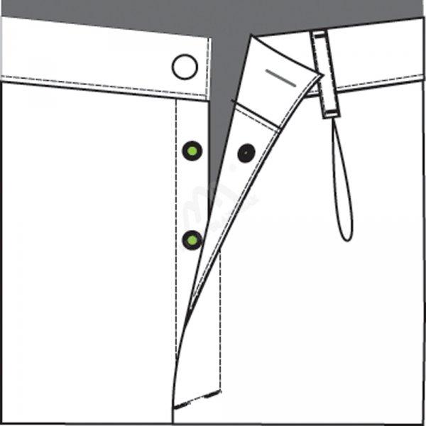 Spodnie meskie HACCP