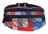 SASZETKA NERKA CoolPack na pas torba MADISON w kolorowe kwadraty, MOTION CHECK 894 (69014)