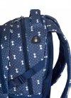 ZESTAW 2 el. Plecak HEAD w białe kokardki, WHITE BOWS HD-337 (502019047SET2CZ)