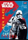 Zeszyt A5 w kratkę 32 kartki STAR WARS mix (21750)