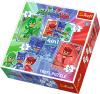 TREFL Puzzle 4 w 1 Kotboy i drużyna, Pidżamersi (34291)