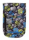 Portfel saszetka na szyję CoolPack TOURIST niebiesko - żółty, SIGNS 767 (75336)