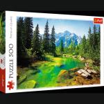 TREFL Puzzle 500 el. Widok na Tatry (37117)