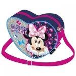 Torebka na ramię serce Myszka Minnie (TRSMM21)
