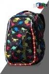 Plecak CoolPack LED STRIKE S dinozaury DINOSAURS (94580)